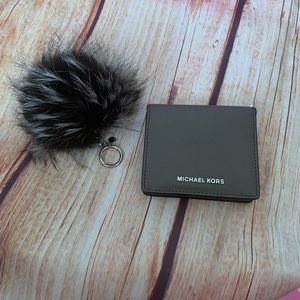 Michael Kors Wallet Card case and purse charmNWT